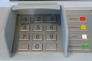 Kaskrediet geldopname via geldautomaat