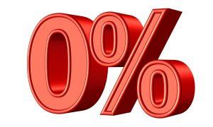 0 percent gratis renteloze lening