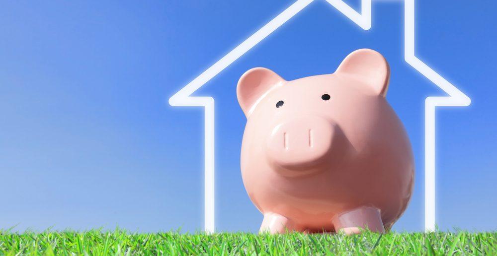 spaarvarken woning besparen door te herfinancieren