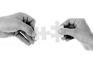 puzzelstukjes samenvoegen